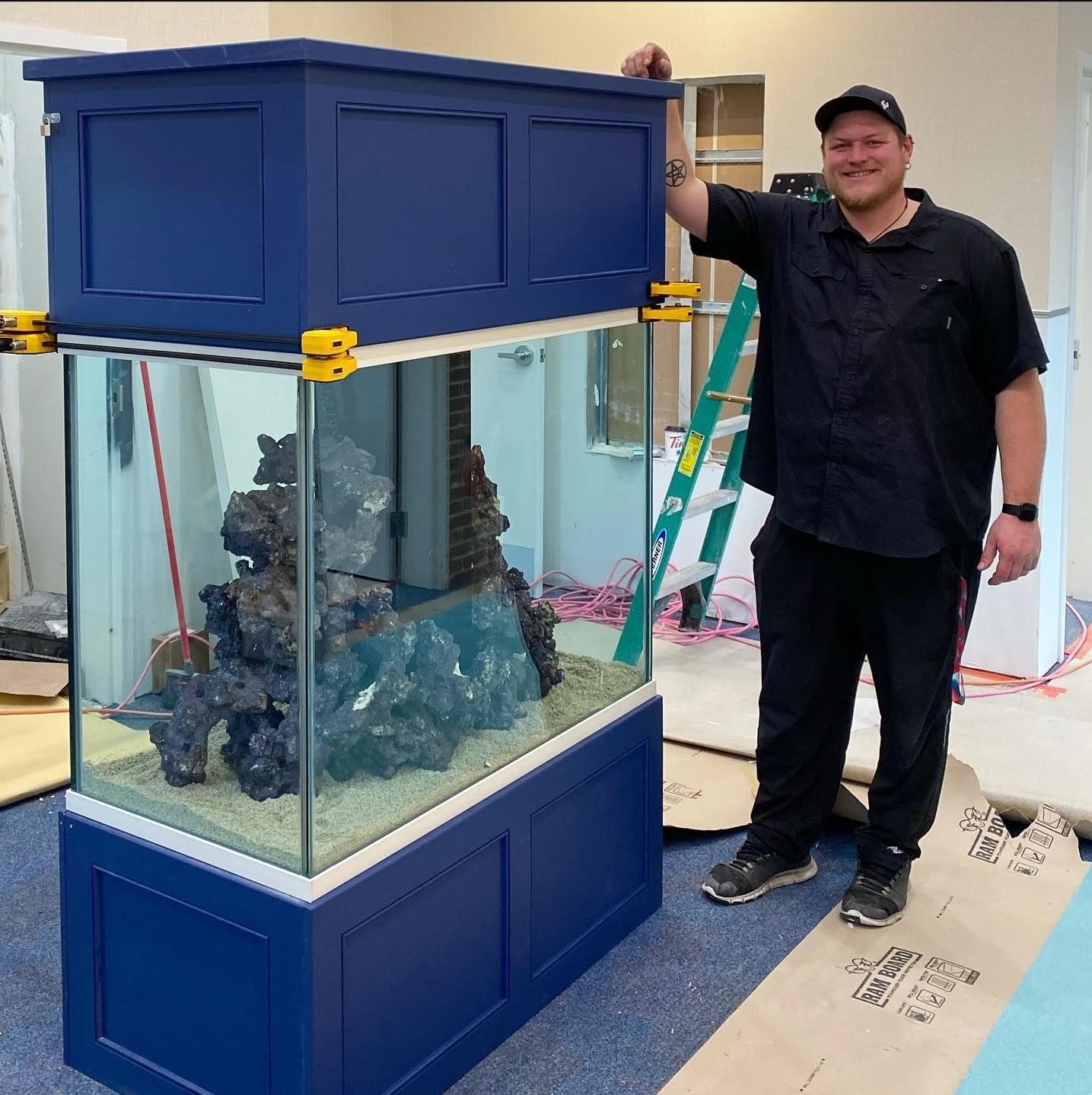 Custom Made 180 Gallon Aquarium